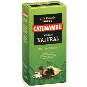 Café natural molido CATUNAMBÚ 250gr