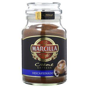 Café soluble MARCILLA Creme descafeinado 200gr