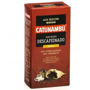 Descafeinado CATUNAMBÚ molido mezcla 250gr