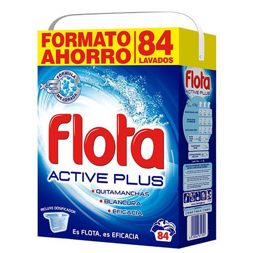 Detergente FLOTA 84 cacitos