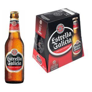 ESTRELLA GALICIA botella 6x25cl