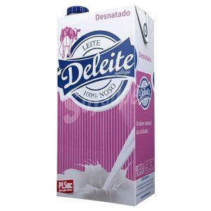 Leche DELEITE desnatada sin lactosa (6x1L)