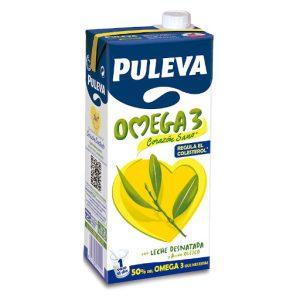Leche PULEVA Omega 3 (6x1L)