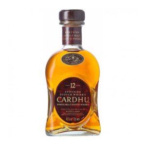 Whisky malta CARDHU 12 anos 70cl