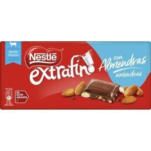 chocolate nestle extrafino almendras 1