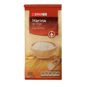 harina de trigo spar 1 kg