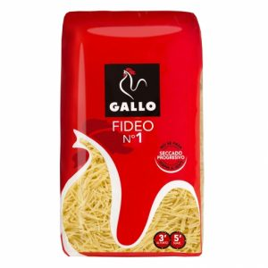 pasta fideos Gallo 500g