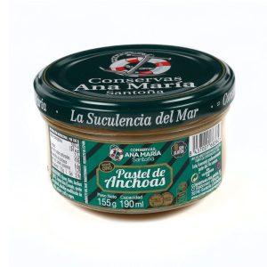 pastel de anchoa conservas ana maria