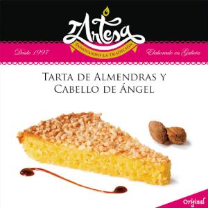 tarta almendras y cabello de angel tartesa