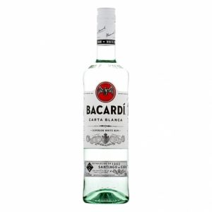 Ron bacardi blanco 1 L