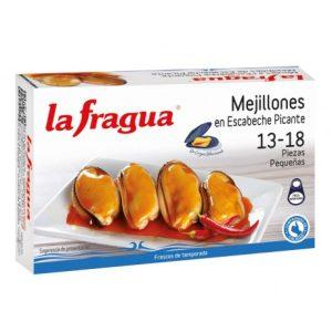 mejillones 13 18 en escabeche picante lata ol 120